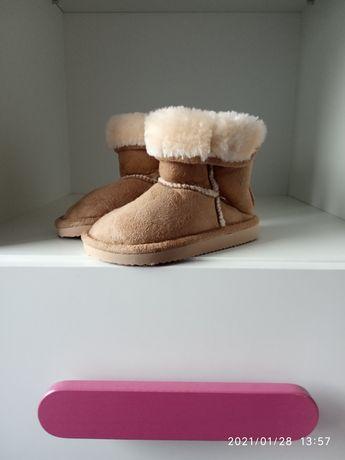 Zimowe buciki, rozm. 22