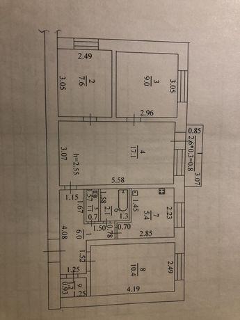 Пподам 4-х комнатную квартиру