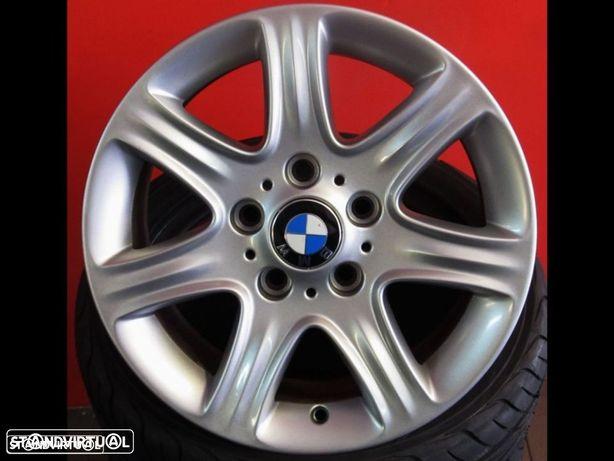 Jantes 16'' originais BMW Serie 1 usadas igual a novas C/ pneus usados