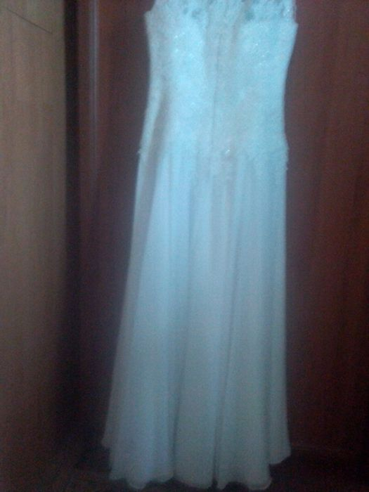 Sprzedam sukienkę ślubną Dziewule - image 1