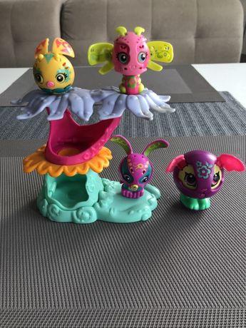 Super figurki magnetyczne Zoobles z drzewkiem