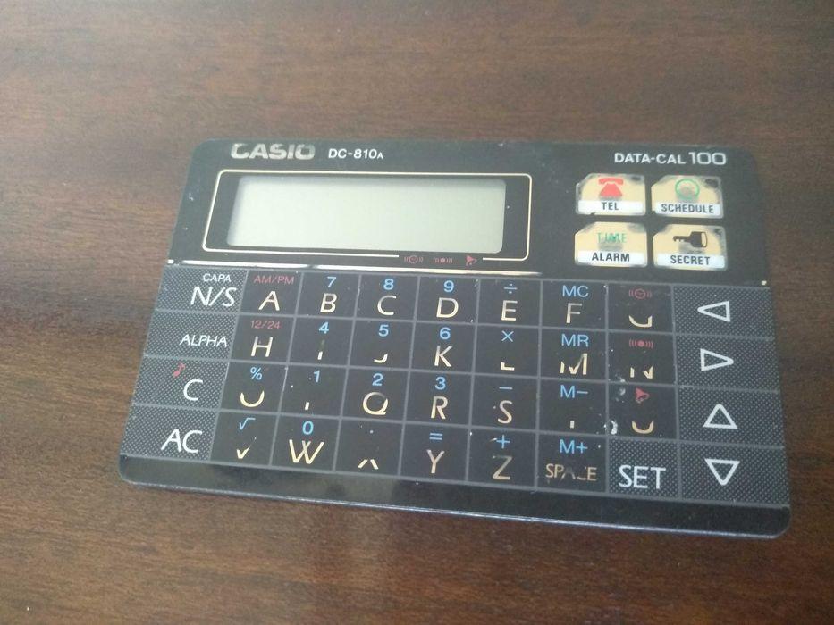 Calculadora Casio DATA-CAL DC-810 A BK Maceira - imagem 1