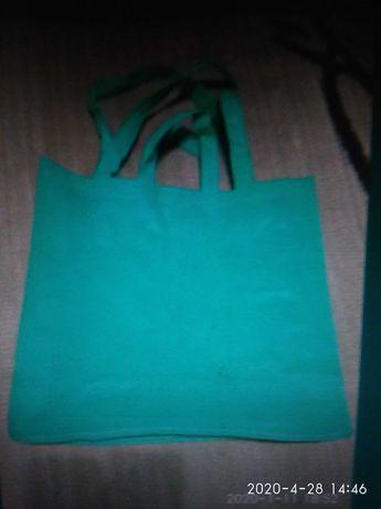 Эко сумка новая, размер 40*40*10 см