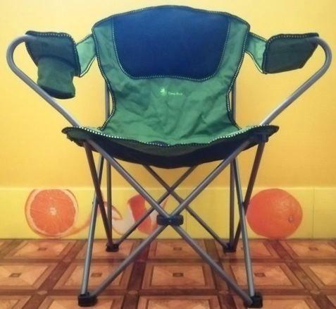 """Новое  раскладной стул-кресло для отдыха """"Time Eco"""" Усиленный  каркас"""
