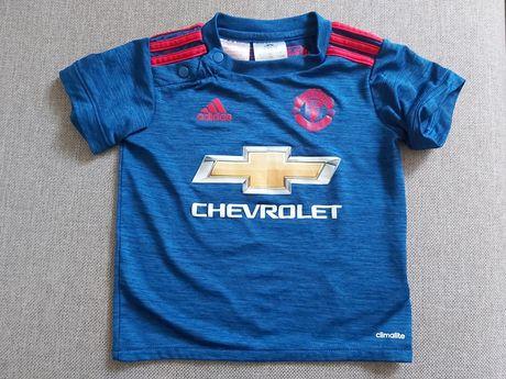 ADIDAS Manchester United bluzka koszulka Harvey 80 cm 9-12 miesięcy