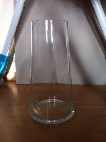 Wazon szklany (wys. 32cm)