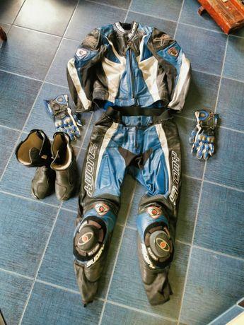 Kombinezon motocyklowy Suomy X-Shock Komplet rozmiar 50 buty rękawice