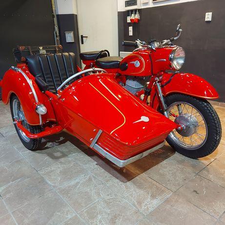Mz ES 250/1 z wózkiem bocznym Stoye