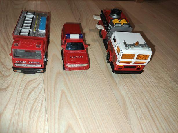 Wozy strażackie 3 sztuki