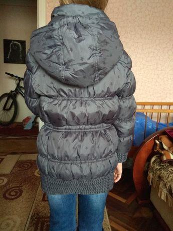 Дитяча куртка осінь для дівчинки RESERVED 128см 7-8 років
