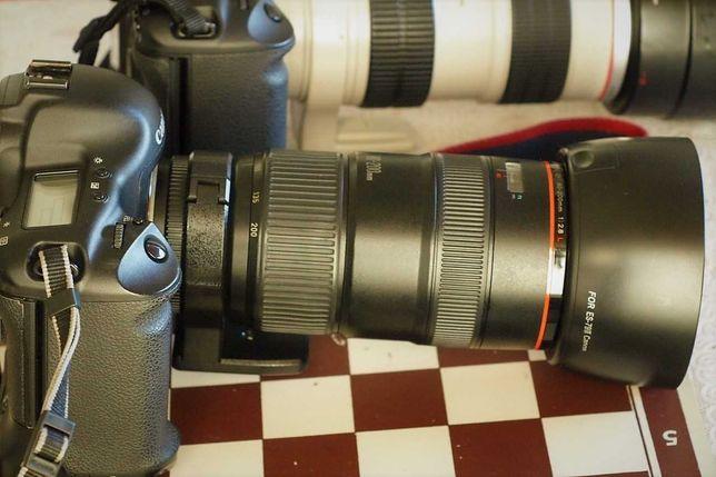 Canon 1ds mark 2 + obiektyw L 80-200 f2.8