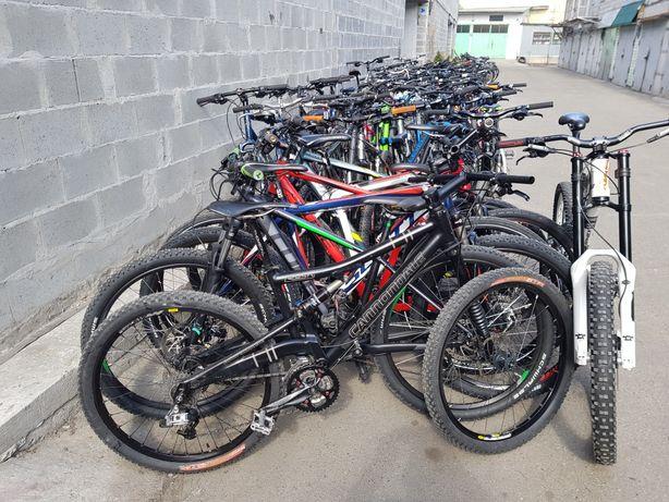 Брендові велосипеди із Європи ( cube bergamont scott cannondale kona