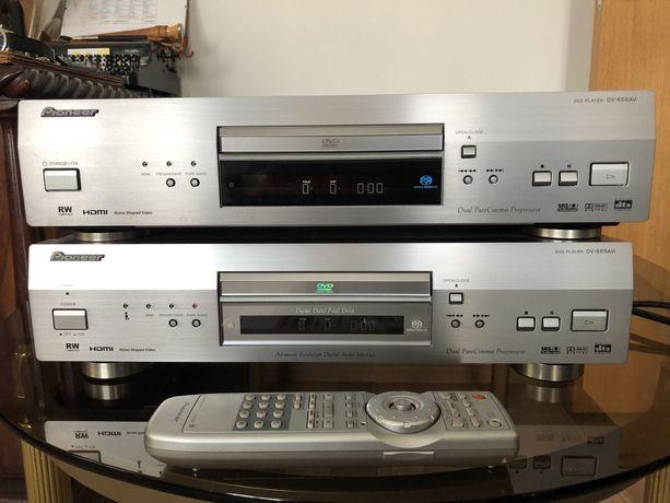 Pioneer DV-668AV + Pioneer DV-868AVI