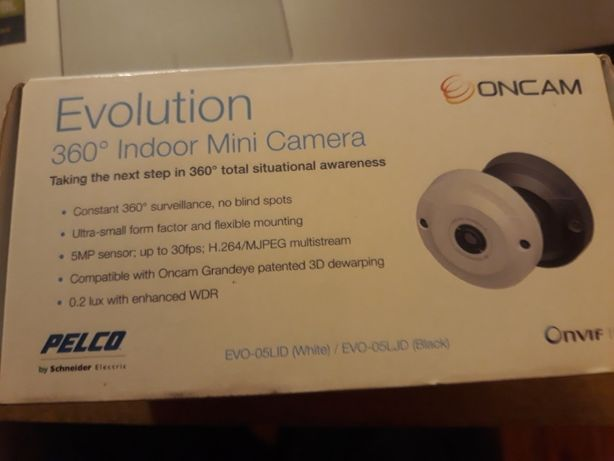 Pelco evolution 360 indoor mini camera