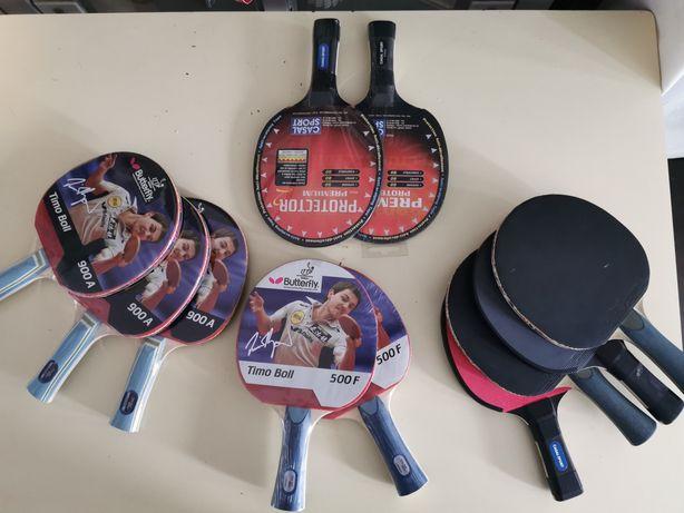 Raquetes ping pong
