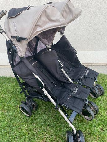 Wózek spacerowy bliźniaczy (typu: parasolka)