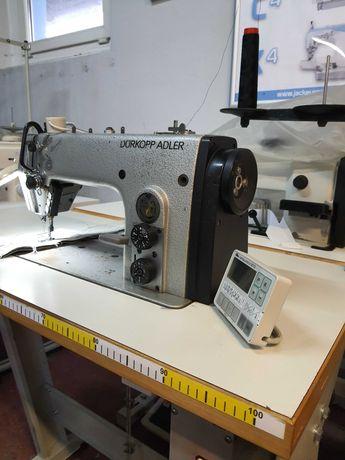Stebnówka Durkop maszyna do szycia transport podwójny igłowo-ząbkowy