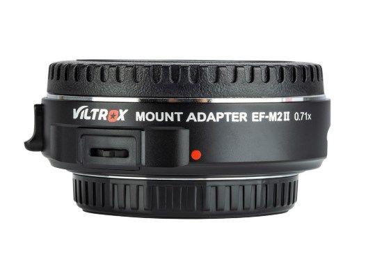 Viltrox EF-M2 II Новый автофокусный адаптер для Canon EF на M4/3