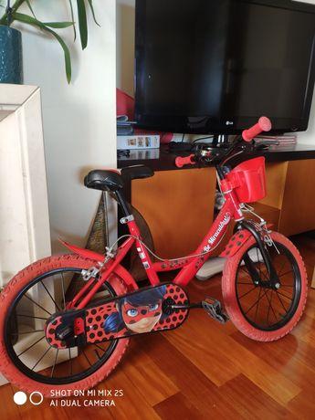 Bicicleta criança Lady Bug