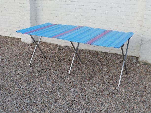 stół handlowy 200 cm z blatem targowy , bazarowy do handlu ulicznego
