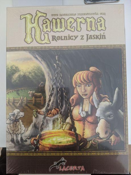 Gra planszowa Kawerna (następca gry Agricola) - nowa, w folii