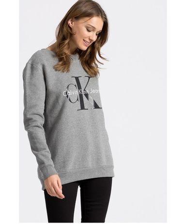 Свитшот Calvin Klein с логотипом худи толстовка оригинал
