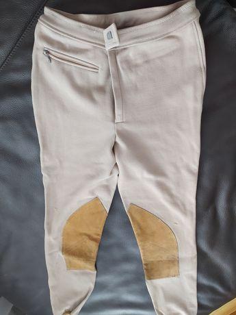 Bryczesy spodnie jazda konna M +gazety