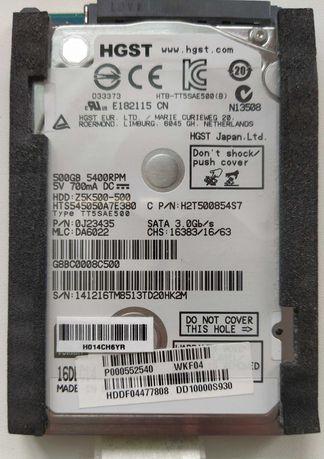 Жесткий диск Hitachi HDD Z5K500-500 для ноутбука