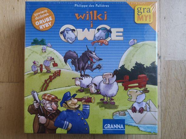 Wilki i owce - gra planszowa - NOWA, zafoliowana