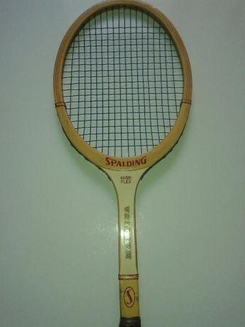 rakieta tenisowa SPALDING; retro, UNIKAT, vintage, PRL