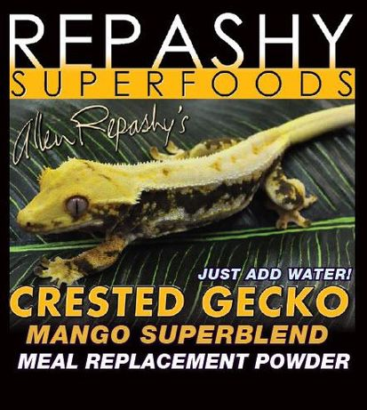 Repashy Mango + inne smaki - kompletna karma dla gekon orzęsiony