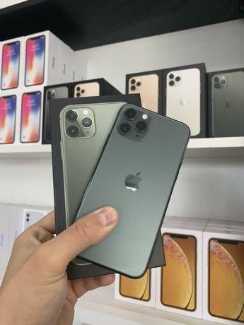 Идеалы Iphone 11 pro 64/256 gb Midnight Green Neverlock Гарантия!
