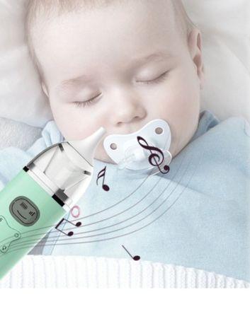 Детский электронный назальный аспиратор / соплеотсос с музыкой