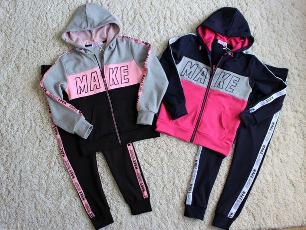 Спортивный костюм для девочки на микроначесе. Размер от 134 до 164 см