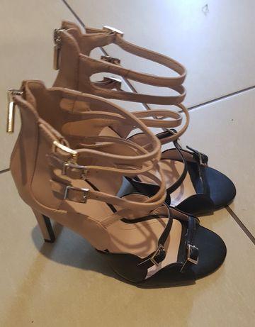 Zara szpilki sandaly roz.38 nowe