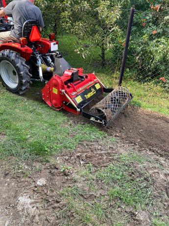 Glebogryzarka Separacyjna - zakładanie trawnika, przygotowanie gleby