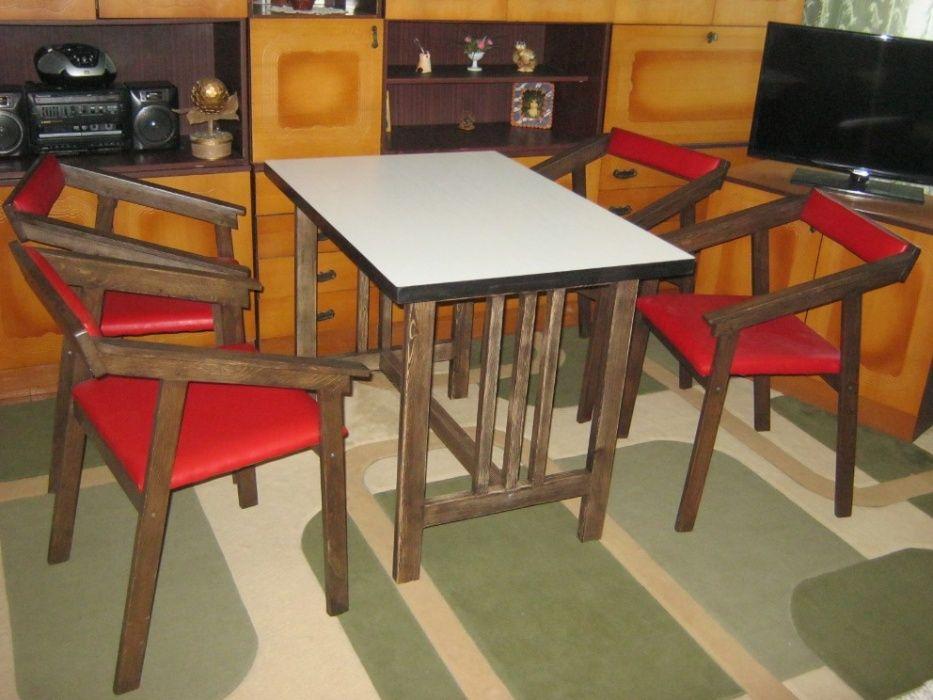 Комплект кухонный или садовый Стол +4 стула. Светловодск - изображение 1