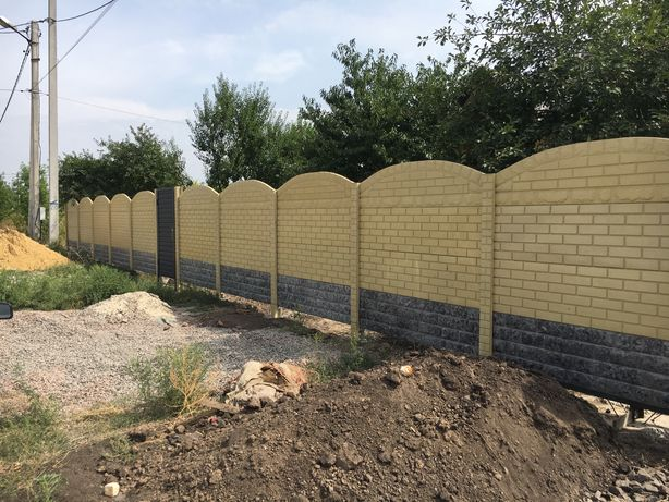 Еврозаборы не требующие покраски гранилит,установка в Харькове и обл.