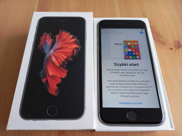 iPhone 6s, stan idealny + nowy pokrowiec i szkło hartowane