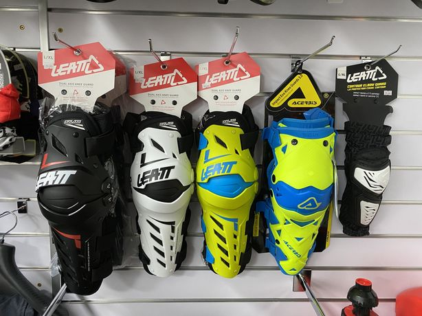 Наколенники Leatt Knee Guard Dual Axis для мотоцикла, мопеда,пелосипед