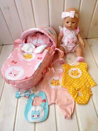 Подарочный набор с сумкой-переноской и одеждой для Baby Born Baby Born
