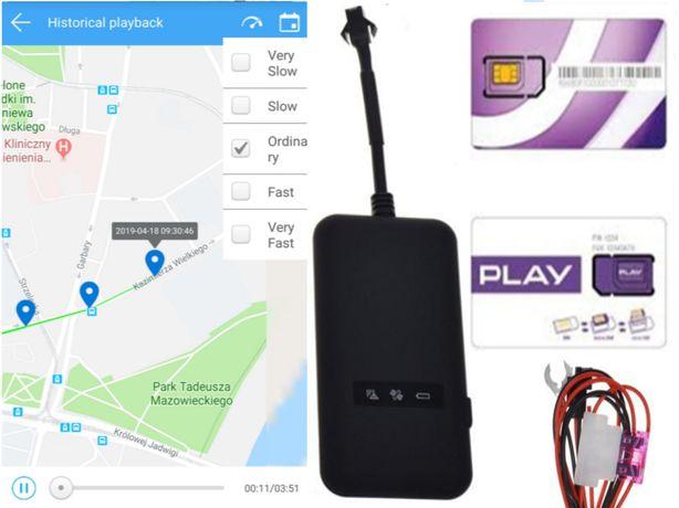 LOKALIZATOR gps serwer WWW KARTA telemetryczna ROK free