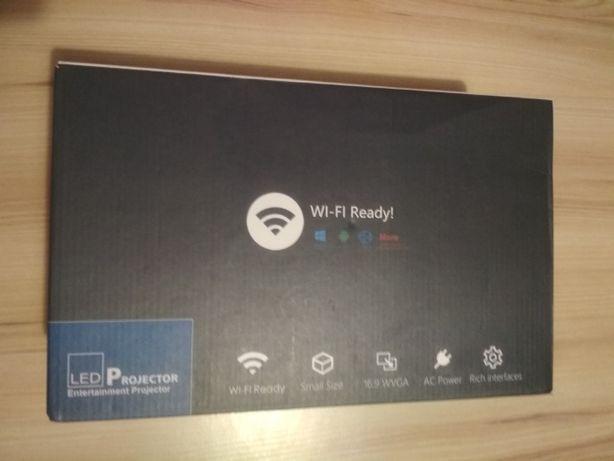 Projektor LED UC46 WiFi z Miracast DLNA Airplay