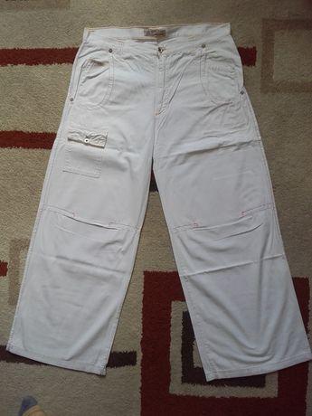 Spodnie Białe 'SWING JEANS'-XXL