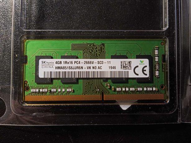 RAM SO-DIMM SK Hynix 1x4Gb DDR4 2666MHz