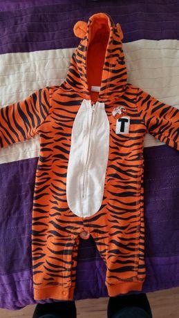Kombinezon dresowy Tygrysek Disney body Reserved krótki rękaw