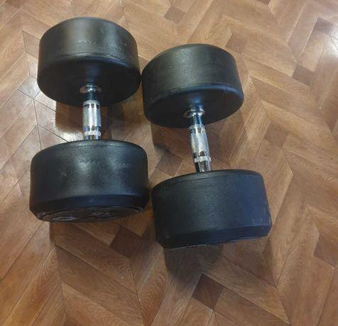 Hantle ogumowane PIO 2 x 35 kg