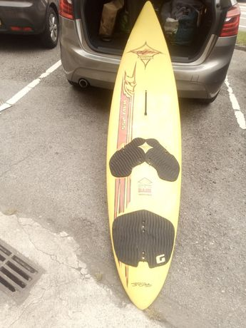 Prancha surf e fato, troca por long board