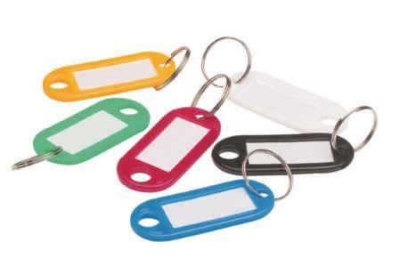 Etiqueta Porta-Chave - Plástico - Caixas c/144 porta-chaves