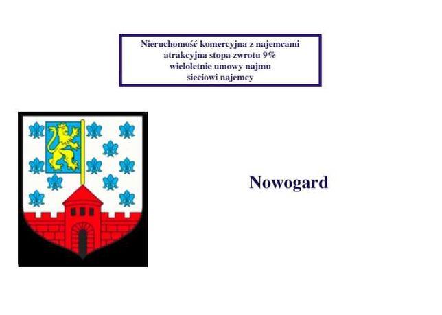 Budynek komercyjny Nowogard -sieciowi najemcy stopa zwrotu blisko 9%
